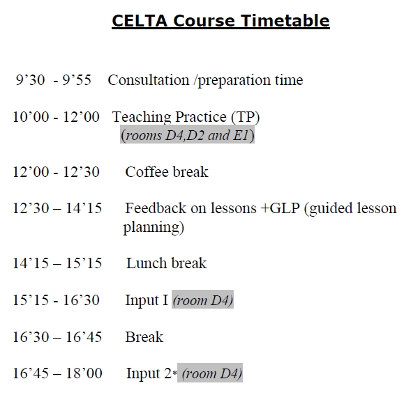 celta assignment 1 lessons form the Cis form useful material assignments lesson planning video observations action points library digital resources welcome to the online option for your celta course.