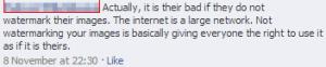 FB Warped Belief